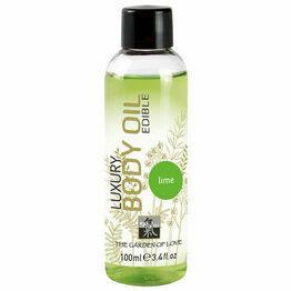 Shiatsu Luxury Edible Body Oil - Lime