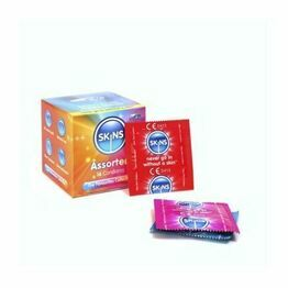 Skinc Cube Assorted Condoms - 16 Pack