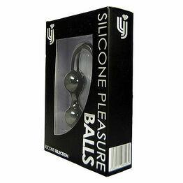 Loving Joy Silicone Pleasure Balls-Black