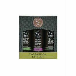 Earthly Body Massage Oil Gift Set Box