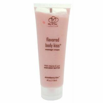 My Joy Collection Strawberry Body Kiss Massage Cream