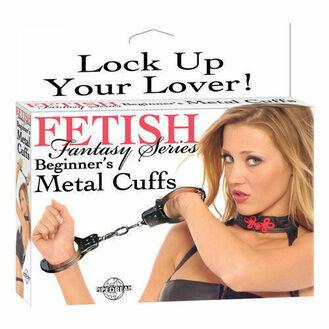 Fetish Fantasy Series Beginners Metal Cuffs