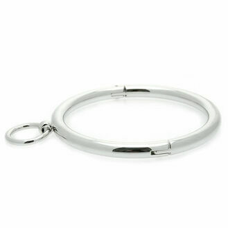 Master Series Ladies Rolled Steel Collar With Ring