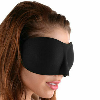 Kink Industries Frisky Deluxe Black Out Blindfold