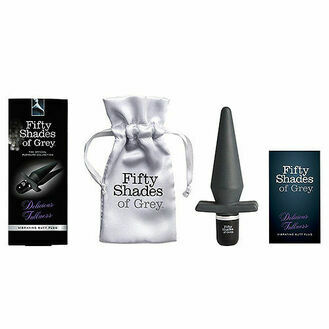 Fifty Shades of Grey Delicious Fullness Vibrating Butt Plug 5 Inch