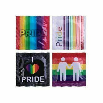 Pasante Gay Pride Condoms