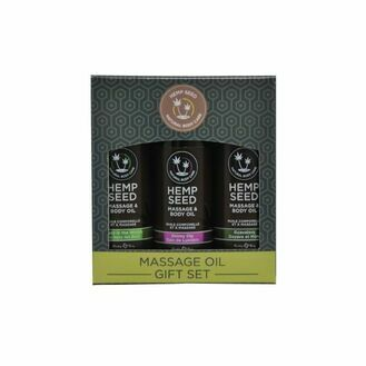 Earthly Body Massage Oil Gift Set Box