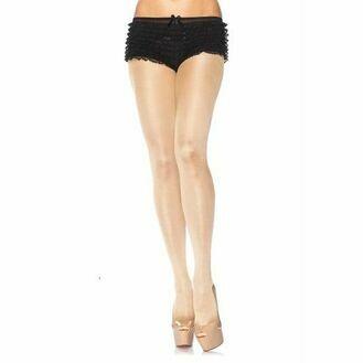 Leg Avenue Plus Size Opaque Pantyhose Nude