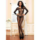 Leg Avenue Swirl Lace Bodystocking additional 1