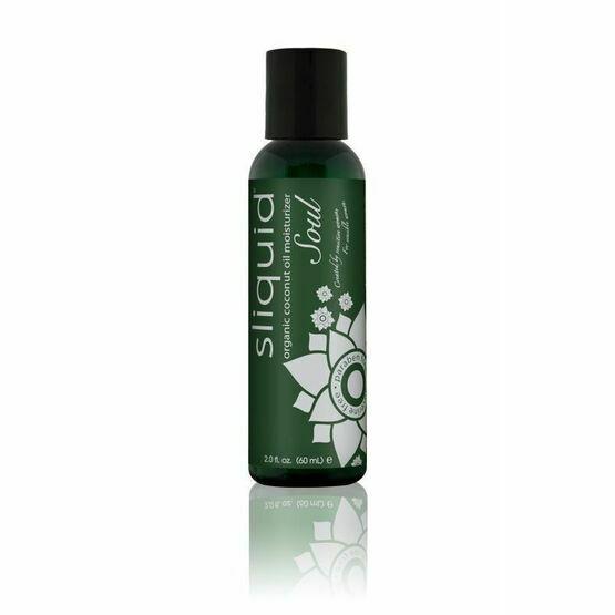 Sliquid Soul Organic Coconut Oil Moisturiser (59ml)