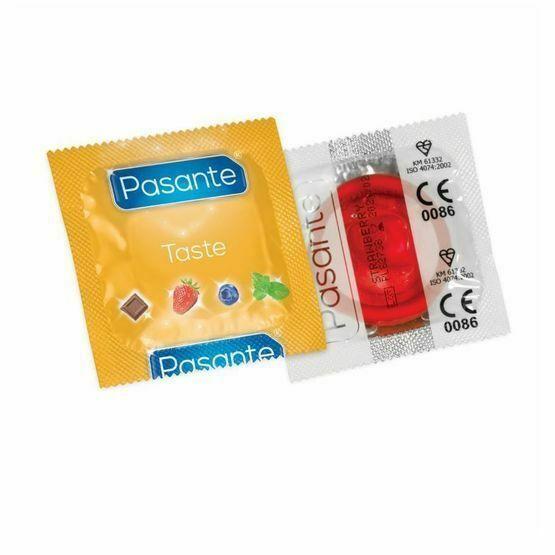 Pasante Strawberry Crush Flavoured Condoms